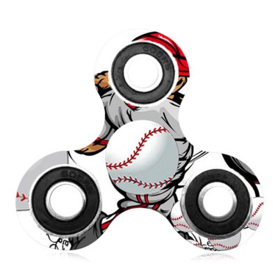 Fiddle Toy Baseball Patterned Tri-bar Plastic Fidget SpinnerFidget Spinners<br>Fiddle Toy Baseball Patterned Tri-bar Plastic Fidget Spinner<br><br>Features: Creative Toy<br>Frame material: Plastic<br>Package Contents: 1 x Fidget Spinner<br>Products Type: Fidget Spinner<br>Shape/Pattern: Ball<br>Swing Numbers: Tri-Bar<br>Weight: 0.0700kg