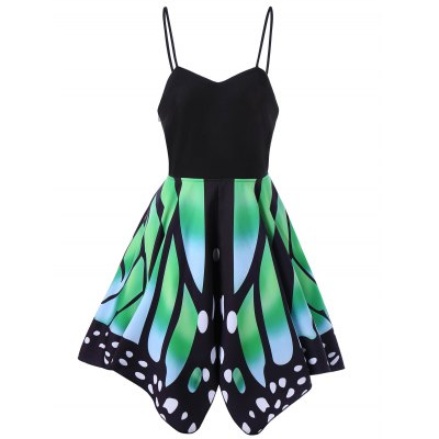 Butterfly Print Lace Up Slip DressMini Dresses<br>Butterfly Print Lace Up Slip Dress<br><br>Dresses Length: Knee-Length<br>Material: Polyester, Spandex<br>Neckline: Spaghetti Strap<br>Package Contents: 1 x Dress<br>Pattern Type: Butterfly<br>Season: Summer<br>Silhouette: A-Line<br>Sleeve Length: Sleeveless<br>Style: Gothic<br>Weight: 0.3500kg<br>With Belt: No