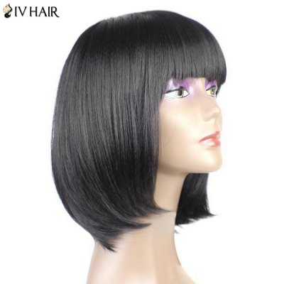 Siv Hair Neat Bang Short Straight Bob Human Hair WigHuman Hair Wigs<br>Siv Hair Neat Bang Short Straight Bob Human Hair Wig<br><br>Bang Type: Full<br>Cap Construction: Capless<br>Cap Size: Average<br>Length: Short<br>Length Size(CM): 35<br>Material: Human Hair<br>Occasion: Daily<br>Package Contents: 1 x Wig<br>Style: Straight<br>Type: Full Wigs<br>Weight: 0.1300kg
