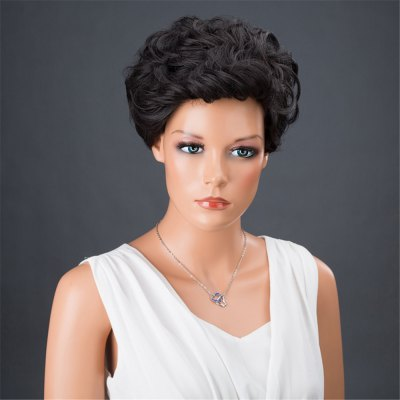 Dyed Perm Short Layered Shaggy Curly Synthetic WigSynthetic Wigs<br>Dyed Perm Short Layered Shaggy Curly Synthetic Wig<br><br>Bang Type: Side<br>Cap Construction: Capless (Machine-Made)<br>Length: Short<br>Length Size(Inch): 8<br>Material: Synthetic Hair<br>Package Contents: 1 x Wig 1 x Hair Net 1 x Comb 1 x Hair Clip ( Set )<br>Style: Curly<br>Type: Full Wigs<br>Weight: 0.1800kg