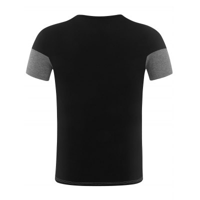 Short Sleeve Color Block Panel TeeMens Short Sleeve Tees<br>Short Sleeve Color Block Panel Tee<br><br>Collar: Round Neck<br>Material: Cotton, Spandex<br>Package Contents: 1 x Tee<br>Pattern Type: Patchwork<br>Sleeve Length: Short<br>Style: Casual<br>Weight: 0.2250kg