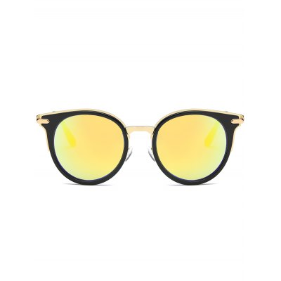 Mirrored Reflective Round Vintage Cat Eye SunglassesStylish Sunglasses<br>Mirrored Reflective Round Vintage Cat Eye Sunglasses<br><br>Frame Length: 14.1CM<br>Frame material: Other<br>Gender: For Women<br>Group: Adult<br>Lens height: 5.3CM<br>Lens material: Resin<br>Lens width: 5.9CM<br>Nose: 1.8CM<br>Package Contents: 1 x Sunglasses<br>Shape: Cat Eye<br>Style: Fashion<br>Temple Length: 13.6CM<br>Weight: 0.0762kg