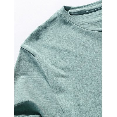 Crew Neck Patterned TeeMens Short Sleeve Tees<br>Crew Neck Patterned Tee<br><br>Collar: Crew Neck<br>Material: Cotton, Polyester<br>Package Contents: 1 x Tee<br>Pattern Type: Others<br>Sleeve Length: Short<br>Style: Casual<br>Weight: 0.2300kg