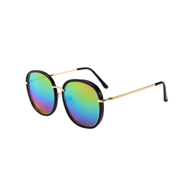 Metal Inlay Mirrored UV Protection SunglassesStylish Sunglasses<br>Metal Inlay Mirrored UV Protection Sunglasses<br><br>Frame Color: Multi-color<br>Frame Length: 14.7CM<br>Frame material: Other<br>Gender: For Women<br>Group: Adult<br>Lens height: 5.3CM<br>Lens material: Resin<br>Lens width: 5.7CM<br>Nose: 1.4CM<br>Package Contents: 1 x Sunglasses<br>Style: Fashion<br>Temple Length: 14.3CM<br>Weight: 0.1061kg