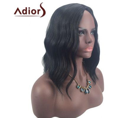 Adiors Center Part Medium Slightly Curled Synthetic Wig