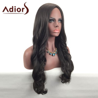 Adiors Middle Part Long Wavy Synthetic WigSynthetic Wigs<br>Adiors Middle Part Long Wavy Synthetic Wig<br><br>Bang Type: Middle<br>Cap Construction: Capless (Machine-Made)<br>Length: Long<br>Length Size(CM): 70<br>Material: Synthetic Hair<br>Package Contents: 1 x Wig<br>Style: Wavy<br>Type: Full Wigs<br>Weight: 0.2800kg
