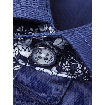 Floral Print Pocket Slim Fit ShirtMens Shirts<br>Floral Print Pocket Slim Fit Shirt<br><br>Collar: Turn-down Collar<br>Material: Cotton, Polyester<br>Package Contents: 1 x Shirt<br>Pattern Type: Floral<br>Shirts Type: Casual Shirts<br>Sleeve Length: Full<br>Weight: 0.3620kg