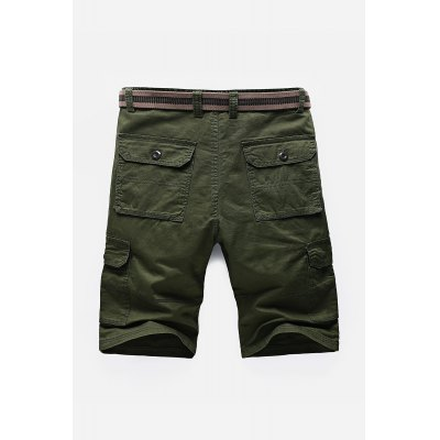 Pockets Embellished Zipper Fly Cargo ShortsMens Shorts<br>Pockets Embellished Zipper Fly Cargo Shorts<br><br>Closure Type: Zipper Fly<br>Fit Type: Regular<br>Front Style: Pleated<br>Length: Short<br>Material: Cotton, Polyester<br>Package Contents: 1 x Cargo Shorts<br>Style: Fashion<br>Waist Type: Mid<br>Weight: 0.4600kg<br>With Belt: No