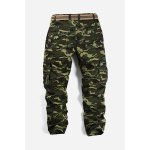 Buy Camouflage Pattern Minitary Cargo Pants 34 ARMY GREEN CAMOUFLAGE