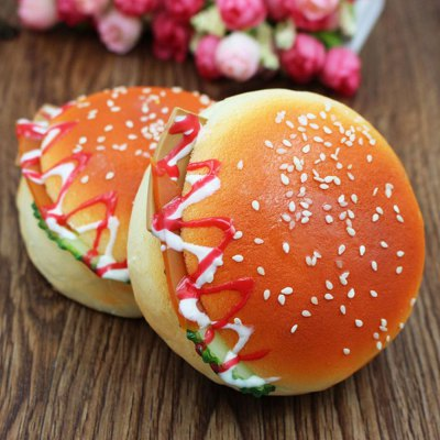 1Pcs Squishy Toy Simulation Hamburger Model