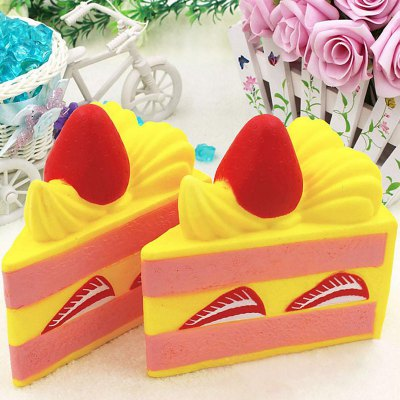 High Simulation 1Pcs Squishy Toy PU Cake PropSquishy toys<br>High Simulation 1Pcs Squishy Toy PU Cake Prop<br><br>Features: Creative Toy<br>Materials: PU<br>Package Contents: 1 x Simulation Cake<br>Products Type: Squishy Toy<br>Shape/Pattern: Food<br>Theme: Funny<br>Weight: 0.3844kg