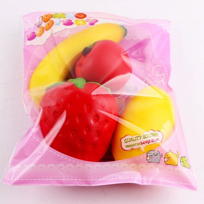 Simulation Banana Apple Strawberry Shape Squishy ToysSquishy toys<br>Simulation Banana Apple Strawberry Shape Squishy Toys<br><br>Features: Creative Toy<br>Materials: PU<br>Package Contents: 1 x Squishy Toys (Set)<br>Products Type: Squishy Toy<br>Theme: Funny<br>Weight: 0.3500kg