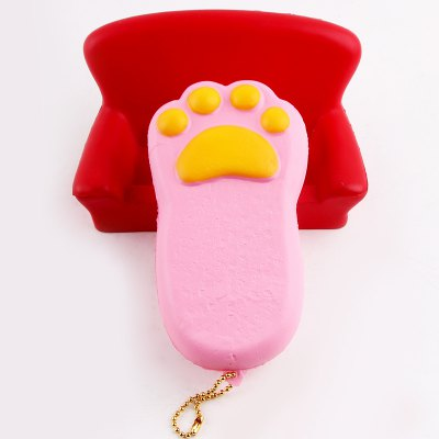 Antistress Squishy Toy Bear Claw Simulation CakeSquishy toys<br>Antistress Squishy Toy Bear Claw Simulation Cake<br><br>Features: Creative Toy<br>Materials: PU<br>Package Contents: 1 x Simulation Cake Toy<br>Products Type: Squishy Toy<br>Shape/Pattern: Food<br>Theme: Funny<br>Weight: 0.1372kg