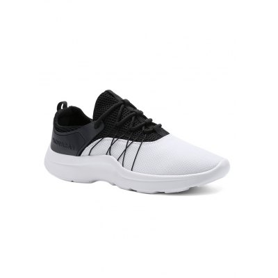 Lace Up Mesh Athletic Shoes