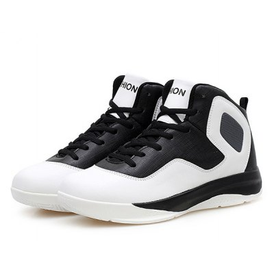 Color Splice High Top Athletic Shoes
