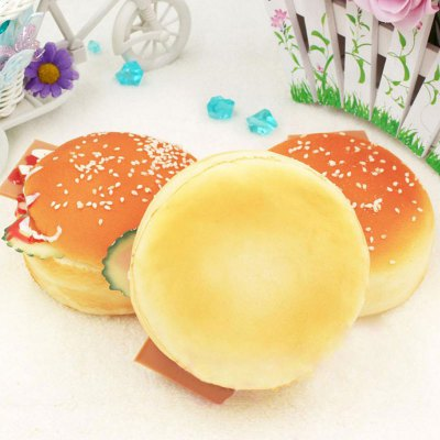 Home Decoration Squishy Toy Simulation HamburgSquishy toys<br>Home Decoration Squishy Toy Simulation Hamburg<br><br>Features: Creative Toy<br>Materials: PU<br>Package Contents: 1 x Simulation Bread?Piece?<br>Products Type: Squishy Toy<br>Shape/Pattern: Food<br>Theme: Funny<br>Weight: 0.1100kg