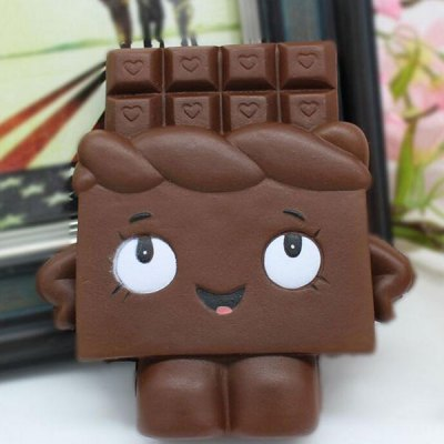 Slow Rising Squishy Chocolate Person Simulation Toy