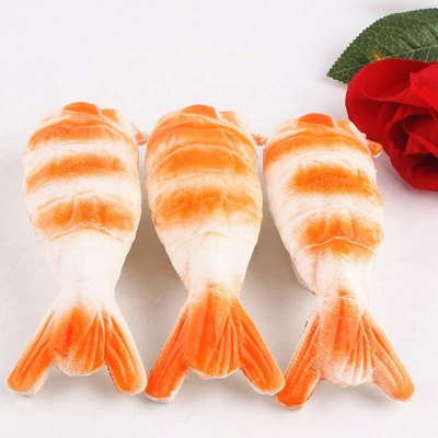 Slow Rebound Squishy Toy PU Shrimp PendantSquishy toys<br>Slow Rebound Squishy Toy PU Shrimp Pendant<br><br>Features: Slow Rising, Soft<br>Materials: PU<br>Package Contents: 1 x Squishy Shrimp<br>Products Type: Squishy Toys<br>Shape/Pattern: Cartoon<br>Theme: Funny<br>Use: Cabinet Decoration, Furniture Display, Home Decoration, Photography Props, Early Education Props<br>Weight: 0.0384kg