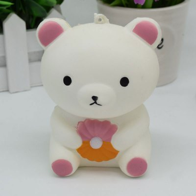Slow Rising Squishy Toy Stress Relief Simulation BearSquishy toys<br>Slow Rising Squishy Toy Stress Relief Simulation Bear<br><br>Features: Slow Rising<br>Materials: PU<br>Package Contents: 1 x Squishy Toy<br>Products Type: Squishy Toy<br>Shape/Pattern: Animal<br>Theme: Cartoon<br>Weight: 0.1280kg