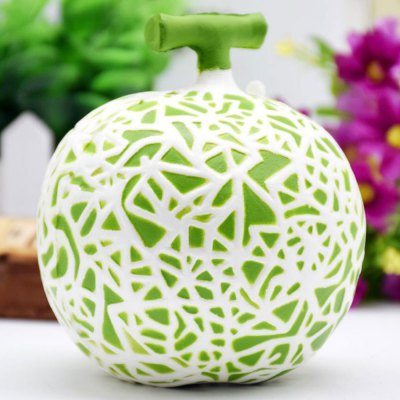 Squishy Artificial Dew Melon Toy Decoration Craft