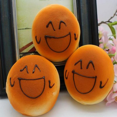 Smiling Face Bread Refrigerator Paste Squishy Toy Simulation FoodSquishy toys<br>Smiling Face Bread Refrigerator Paste Squishy Toy Simulation Food<br><br>Features: Slow Rising<br>Materials: PU<br>Package Contents: 1 x Squishy Toy<br>Products Type: Squishy Toy<br>Shape/Pattern: Food<br>Theme: Cartoon<br>Use: Refrigerator Paste<br>Weight: 0.0365kg