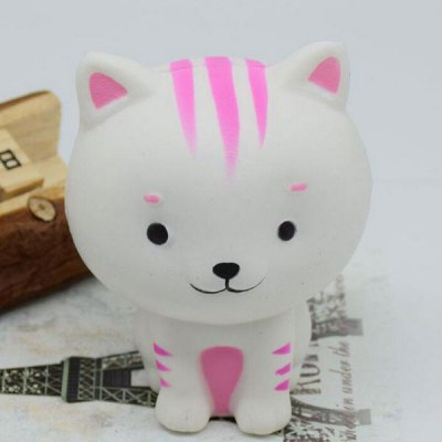 Simulation Cat PU Slow Rising Squishy Animal Toy