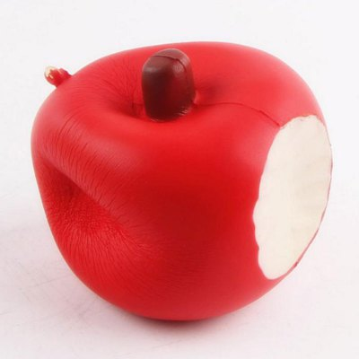 Soft Slow Rising Anti Stress Toy Squishy AppleSquishy toys<br>Soft Slow Rising Anti Stress Toy Squishy Apple<br><br>Features: Creative Toy, Slow Rising, Soft<br>Materials: PU<br>Package Contents: 1 x Simulation Apple 1 x Chain<br>Products Type: Squishy Toys<br>Shape/Pattern: Fruit<br>Theme: Funny<br>Use: Cabinet Decoration, Furniture Display, Home Decoration, Photography Props, Teaching Equipment, Early Education Props<br>Weight: 0.1156kg