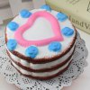 cheap Simulation Love Cake Slow Rising Squishy Food Toy