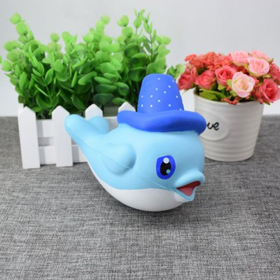Cartoon Scented Simulation Magic Hat Dolphin Squishy ToySquishy toys<br>Cartoon Scented Simulation Magic Hat Dolphin Squishy Toy<br><br>Features: Slow Rising<br>Materials: PU<br>Package Contents: 1 x Squishy Toy<br>Products Type: Squishy Toy<br>Shape/Pattern: Animal<br>Theme: Cartoon<br>Weight: 0.3840kg