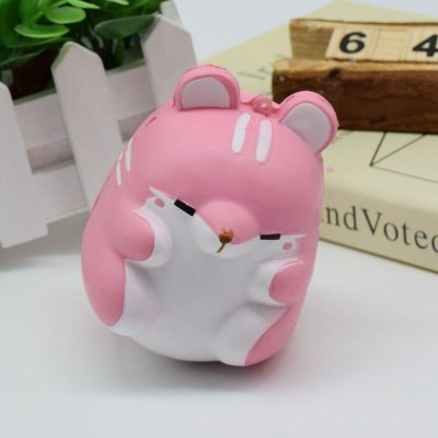 Slow Rising Squishy Toy Simulation HamsterSquishy toys<br>Slow Rising Squishy Toy Simulation Hamster<br><br>Features: Slow Rising<br>Materials: PU<br>Package Contents: 1 x Squishy Toy<br>Products Type: Squishy Toy<br>Shape/Pattern: Animal<br>Theme: Cartoon<br>Weight: 0.1200kg