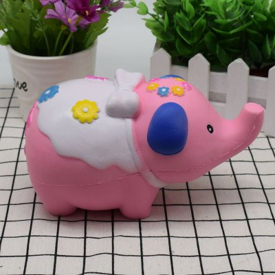 Animal Slow Rising Squishy Toy Simulation ElephantSquishy toys<br>Animal Slow Rising Squishy Toy Simulation Elephant<br><br>Features: Slow Rising<br>Materials: PU<br>Package Contents: 1 x Squishy Toy<br>Products Type: Squishy Toy<br>Shape/Pattern: Animal<br>Theme: Cartoon<br>Weight: 0.3249kg