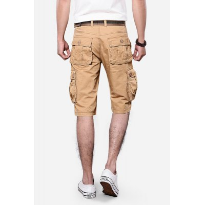 Pockets Design Straight Leg Cargo ShortsMens Shorts<br>Pockets Design Straight Leg Cargo Shorts<br><br>Closure Type: Zipper Fly<br>Fit Type: Regular<br>Front Style: Pleated<br>Length: Short<br>Material: Cotton, Polyester<br>Package Contents: 1 x Cargo Shorts<br>Style: Fashion<br>Waist Type: Mid<br>Weight: 0.3570kg<br>With Belt: No