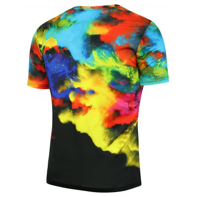 3D Tie Dyed Short Sleeves TeeMens Short Sleeve Tees<br>3D Tie Dyed Short Sleeves Tee<br><br>Collar: Crew Neck<br>Material: Polyester<br>Package Contents: 1 x T-shirt<br>Pattern Type: Tie Dye<br>Sleeve Length: Short<br>Style: Fashion<br>Weight: 0.2000kg