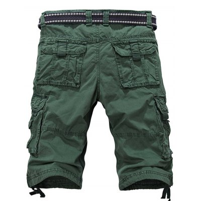 Zipper Fly Multiple Pockets Cargo ShortsMens Shorts<br>Zipper Fly Multiple Pockets Cargo Shorts<br><br>Closure Type: Zipper Fly<br>Fit Type: Regular<br>Front Style: Pleated<br>Length: Knee-Length<br>Material: Cotton<br>Package Contents: 1 x Shorts<br>Style: Casual<br>Waist Type: Mid<br>Weight: 0.4500kg<br>With Belt: No