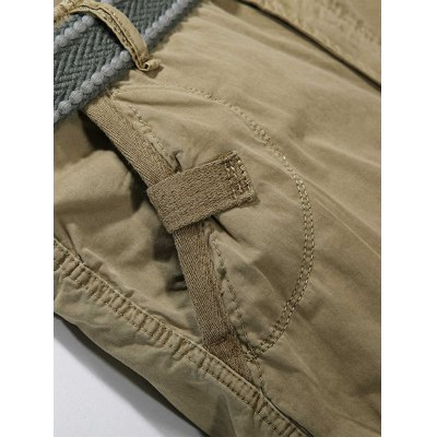Zip Fly Cargo Shorts with Multiple PocketsMens Shorts<br>Zip Fly Cargo Shorts with Multiple Pockets<br><br>Closure Type: Zipper Fly<br>Fit Type: Regular<br>Front Style: Pleated<br>Length: Knee-Length<br>Material: Cotton<br>Package Contents: 1 x Shorts<br>Style: Casual<br>Waist Type: Mid<br>Weight: 0.4500kg<br>With Belt: No