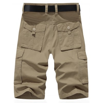 Multi-pocket Chino Cargo ShortsMens Shorts<br>Multi-pocket Chino Cargo Shorts<br><br>Closure Type: Zipper Fly<br>Fit Type: Regular<br>Front Style: Flat<br>Length: Short<br>Material: Cotton, Polyester<br>Package Contents: 1 x Shorts<br>Style: Casual<br>Waist Type: Mid<br>Weight: 0.2350kg<br>With Belt: No