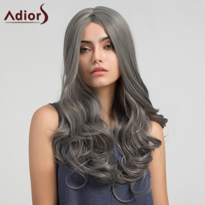 Adiors Middle Part Long Layered Wavy Synthetic WigSynthetic Wigs<br>Adiors Middle Part Long Layered Wavy Synthetic Wig<br><br>Bang Type: Middle<br>Cap Construction: Capless (Machine-Made)<br>Length: Long<br>Length Size(CM): 65<br>Material: Synthetic Hair<br>Package Contents: 1 x Wig<br>Style: Wavy<br>Type: Full Wigs<br>Weight: 0.2660kg