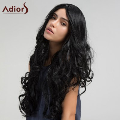 Adiors Long Middle Part Shaggy Wavy Synthetic WigSynthetic Wigs<br>Adiors Long Middle Part Shaggy Wavy Synthetic Wig<br><br>Bang Type: Middle<br>Cap Construction: Capless (Machine-Made)<br>Length: Long<br>Length Size(CM): 70<br>Material: Synthetic Hair<br>Package Contents: 1 x Wig<br>Style: Wavy<br>Type: Full Wigs<br>Weight: 0.2680kg