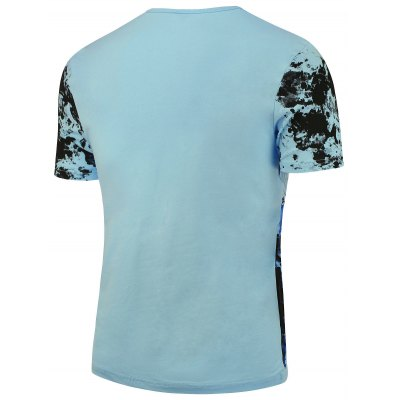 Short Sleeves Splashed Paint TeeMens Short Sleeve Tees<br>Short Sleeves Splashed Paint Tee<br><br>Collar: Crew Neck<br>Material: Cotton, Lycra<br>Package Contents: 1 x T-shirt<br>Pattern Type: Print<br>Sleeve Length: Short<br>Style: Fashion<br>Weight: 0.2040kg