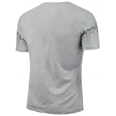 Figure Printing Graphic T-shirtMens Short Sleeve Tees<br>Figure Printing Graphic T-shirt<br><br>Collar: Crew Neck<br>Material: Cotton, Spandex<br>Package Contents: 1 x T-shirt<br>Pattern Type: Print<br>Sleeve Length: Short<br>Style: Fashion<br>Weight: 0.2300kg