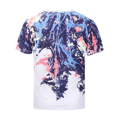 Crew Neck Colorful Splatter Paint Print T-shirtMens Short Sleeve Tees<br>Crew Neck Colorful Splatter Paint Print T-shirt<br><br>Collar: Crew Neck<br>Material: Cotton, Polyester<br>Package Contents: 1 x T-shirt<br>Pattern Type: Paint<br>Sleeve Length: Short<br>Style: Casual, Fashion<br>Weight: 0.2600kg