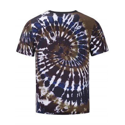 Crew Neck Color Block Spiral Tie Dye Print T-shirtMens Short Sleeve Tees<br>Crew Neck Color Block Spiral Tie Dye Print T-shirt<br><br>Collar: Crew Neck<br>Material: Cotton, Polyester<br>Package Contents: 1 x T-shirt<br>Pattern Type: Color Block, Tie Dye<br>Sleeve Length: Short<br>Style: Fashion, Casual<br>Weight: 0.1680kg