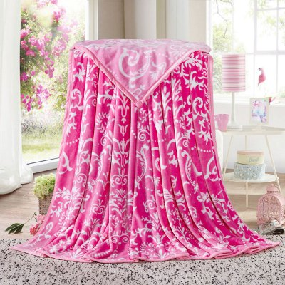 European Style Flower Print Soft Throw BlanketBedding Sets<br>European Style Flower Print Soft Throw Blanket<br><br>Material: Cotton, Polyester<br>Package Contents: 1 x Throw Blanket<br>Pattern Type: Floral<br>Type: Super Soft<br>Weight: 1.4000kg