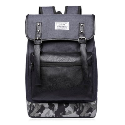 Buckle Straps Camo Panel BackpackBackpacks<br>Buckle Straps Camo Panel Backpack<br><br>Backpack Usage: Daily Backpack<br>Backpacks Type: Softback<br>Closure Type: Zipper<br>Gender: For Men<br>Height: 41CM<br>Length: 29.5CM<br>Main Material: Nylon<br>Package Contents: 1 x Backpack<br>Pattern Type: Print<br>Weight: 1.2000kg<br>Width: 13CM