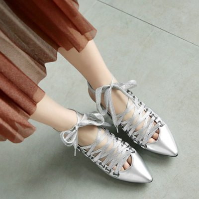 Slingback Tie Up Pointy Toe PumpsWomens Sandals<br>Slingback Tie Up Pointy Toe Pumps<br><br>Heel Height: 7CM<br>Heel Height Range: Med(1.75-2.75)<br>Heel Type: Stiletto Heel<br>Occasion: Casual<br>Package Contents: 1 x Pumps (pair)<br>Pumps Type: Slingbacks<br>Season: Spring/Fall, Summer<br>Shoe Width: Medium(B/M)<br>Toe Shape: Pointed Toe<br>Toe Style: Closed Toe<br>Upper Material: PU<br>Weight: 1.3800kg