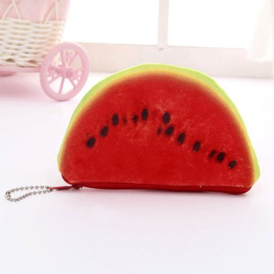 Novelty Fruit Print Coin PurseCoin Purse &amp; Card Holder<br>Novelty Fruit Print Coin Purse<br><br>Closure Type: Zipper<br>Gender: For Women<br>Height: 8CM<br>Length: 13CM<br>Main Material: Polyester<br>Package Contents: 1 x Coin Purse<br>Pattern Type: Print<br>Style: Casual<br>Weight: 0.2000kg