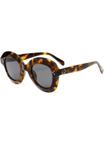 Wide Frame Ombre Street Snap Sunglasses