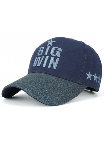 Star Letters Embroidery Baseball Hat