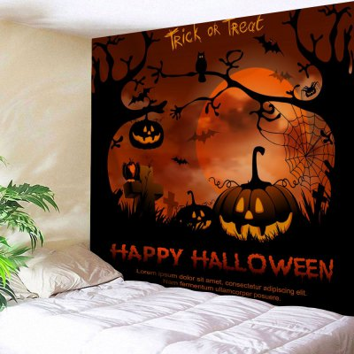 Happy Halloween Wall Hanging Tapestry