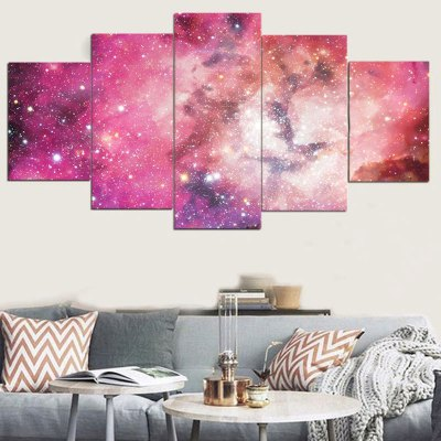 Galaxy Pattern Unframed Canvas Paintings